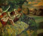 Four Dancers 1899
