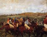 The Gentlemen's Race: Before the Start