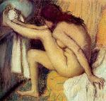 Nude Woman Drying Her Foot 1885