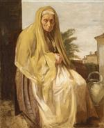 An Old Italian Woman