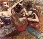 The Red And Blue Dancers