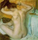 Woman Combing Her Hair 1886