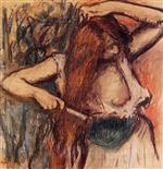 Woman Combing Her Hair c.1894