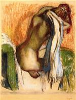 Woman Drying Herself 1905