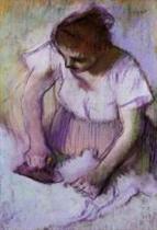 Woman Ironing 1882-1886