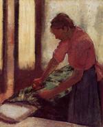 Woman Ironing 1892-1895