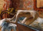 Woman Leaving Her Bath