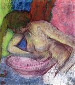 Woman Washing Herself 1897