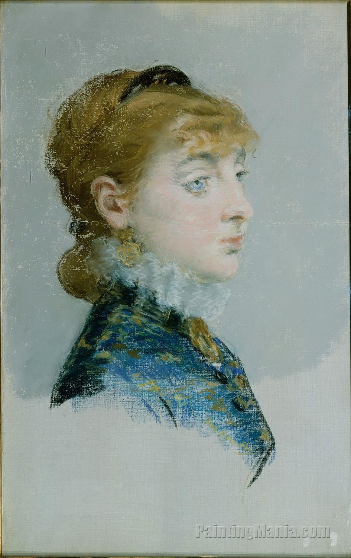 Mademoiselle Lucie Delabigne (1859-1910), Called Valtesse de la Bigne