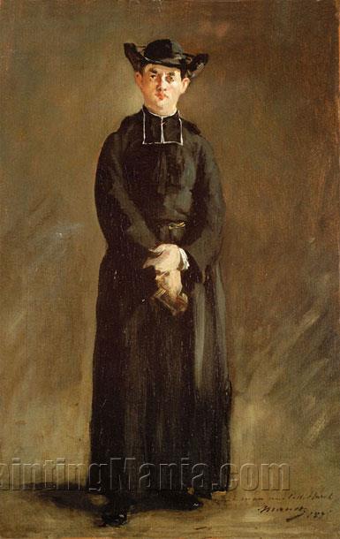 Portrait de l'abbe Hurel