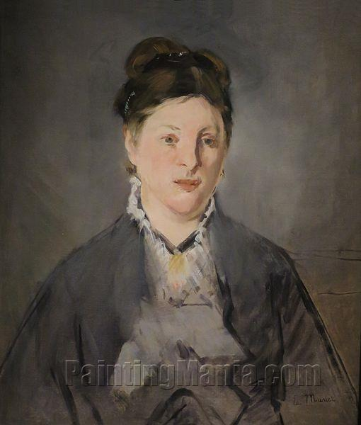 Portrait of Manet's Wife