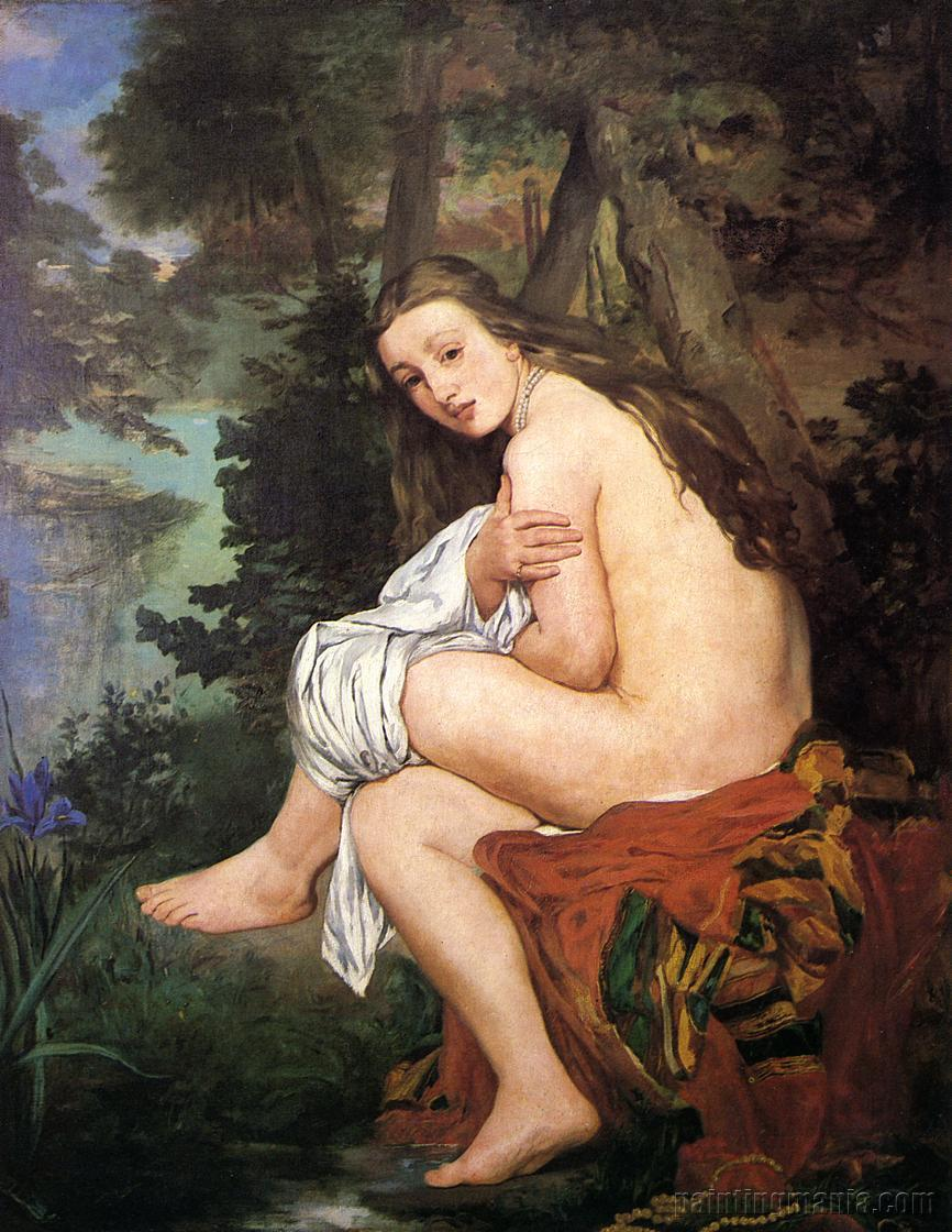 The Surprised Nymph
