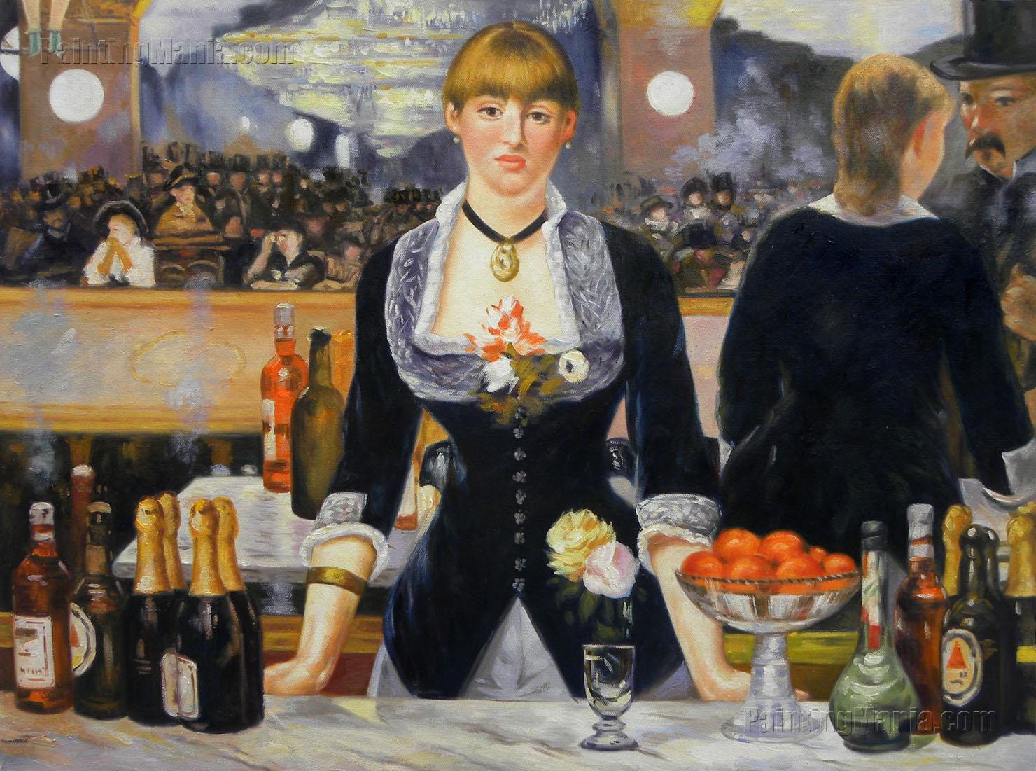 Un bar aux Folies Bergère  Wikipédia