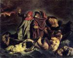 The Barque of Dante (after Delacroix)