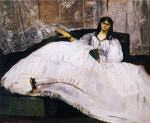 Baudelaire's Mistress, Reclining