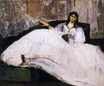 Baudelaire's Mistress, Reclining