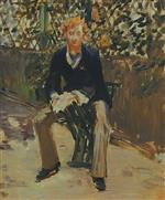George Moore in the Artist's Garden