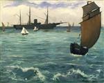 The Kearsarge at Boulogne