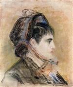 Madame Jeanne Martin in a Bonnet