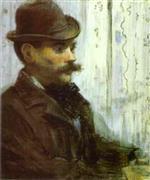 Man in a Round Hat (Alphonse Maureau)