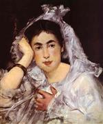 Marguerite de Conflans Wearing Hood