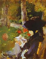 Mother in the Garden at Bellevue