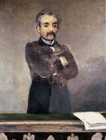 Portrait of Clemenceau at the Tribune