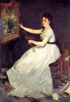 Portrait of Eva Gonzales