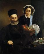 Portrait of Monsieur and Madame Manet (The Artist's Parents)