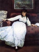 Repose: Portrait of Berthe Morisot