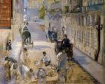 Rue Mosnier with Road Menders