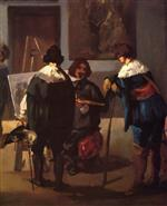 Scene in a Spanish Studio
