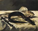 Still Life with Eel and Red Muller