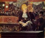 Study for 'Bar at the Folies-Bergere'