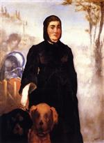A Woman with Dogs