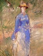 Young Woman in the Garden 1882