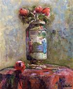 Anemones in a Chinese Vase