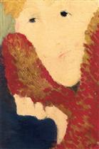Woman in a Fur Collar