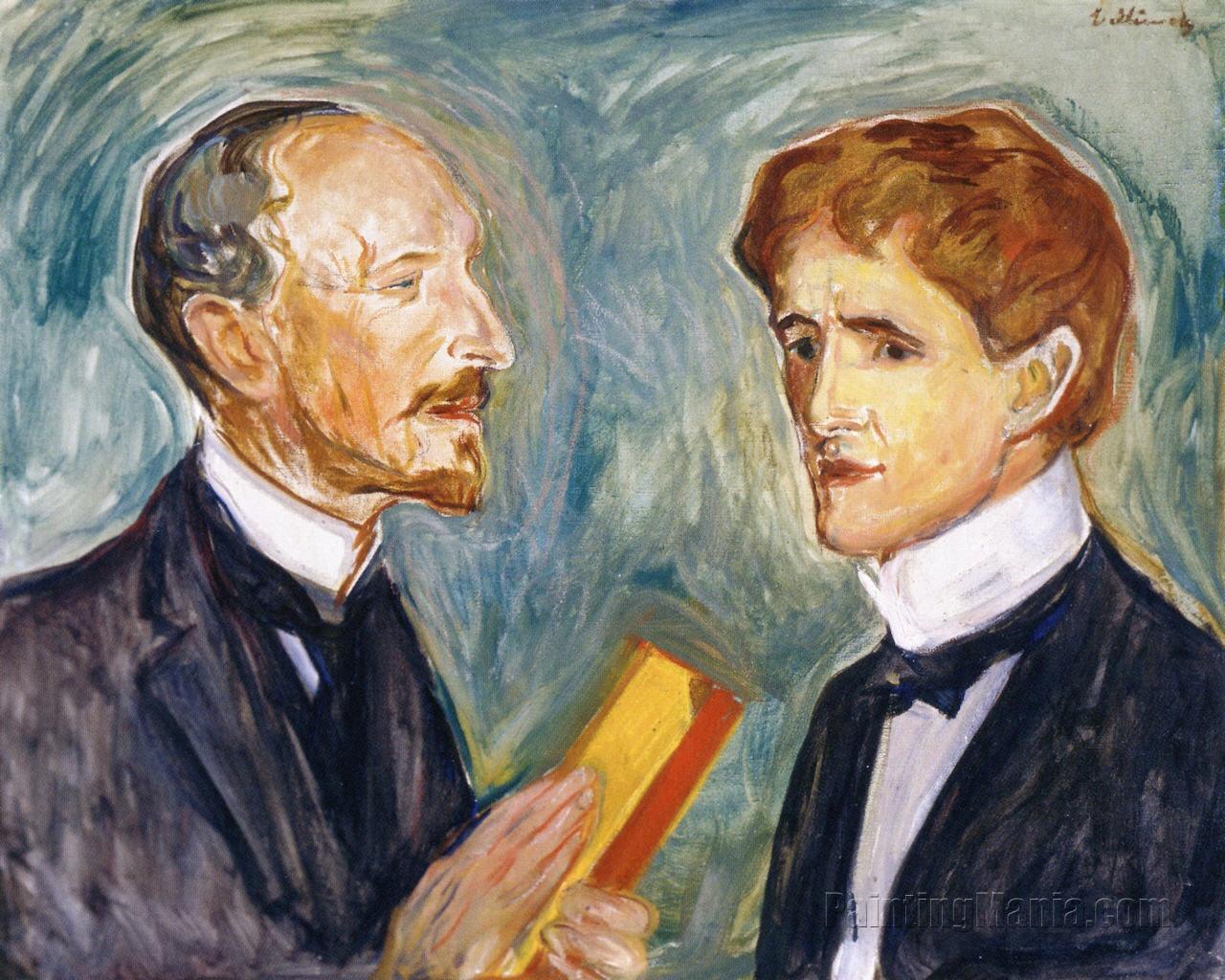 Albert Kollmann and Sten Drewsen