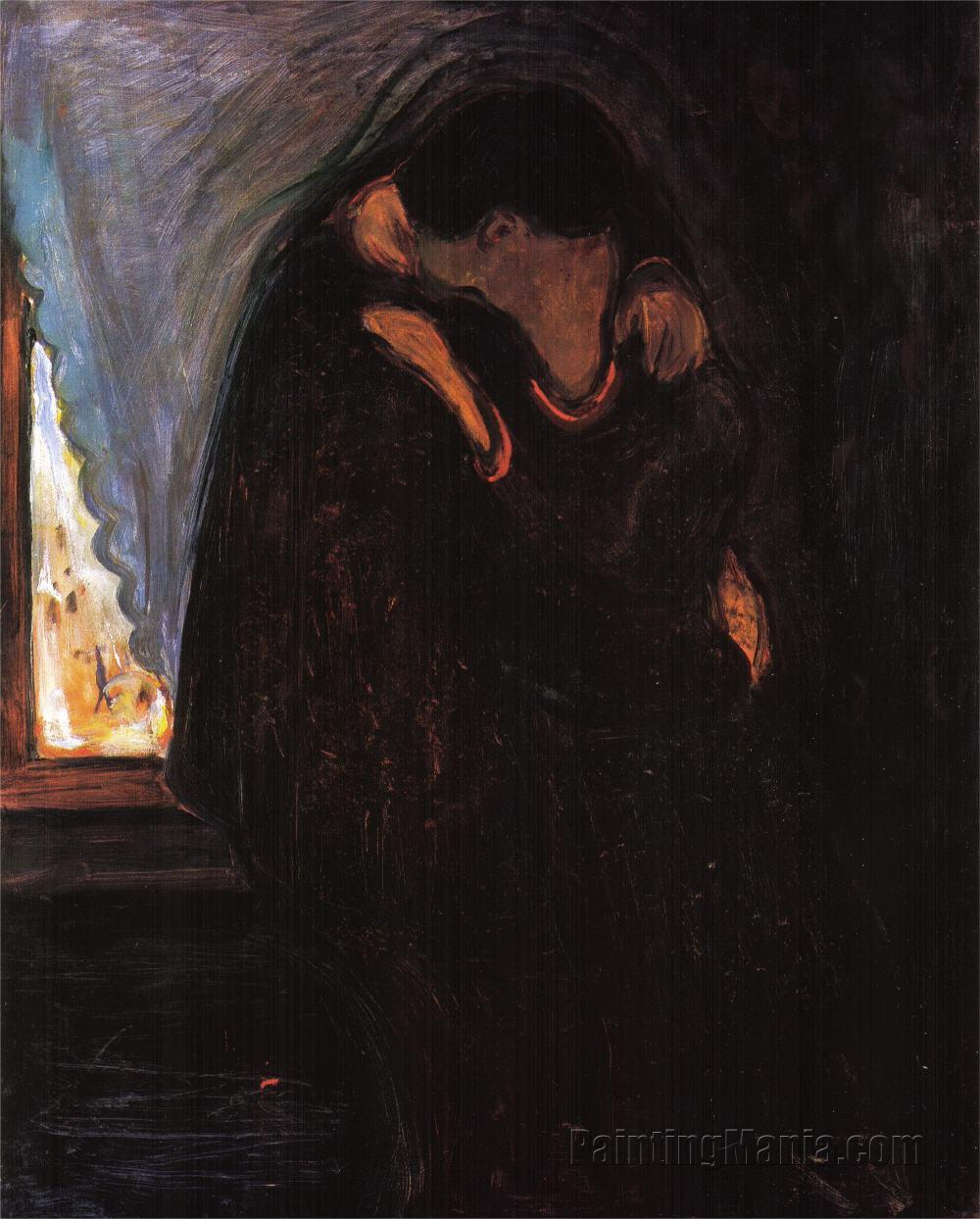 Edward Munch, il bacio