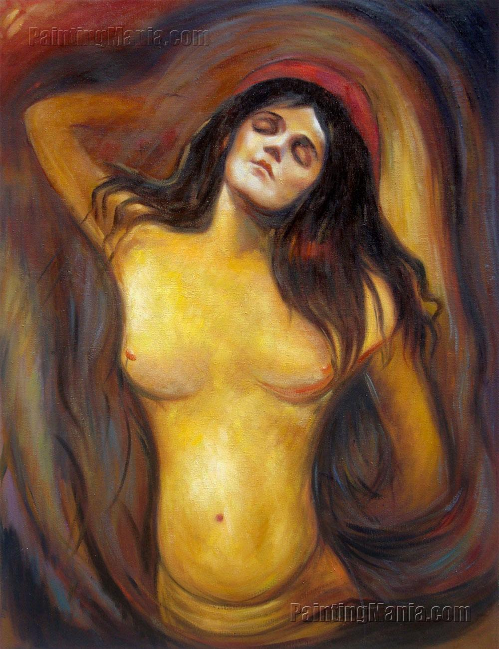 Madonna - Edvard Munch Paintings