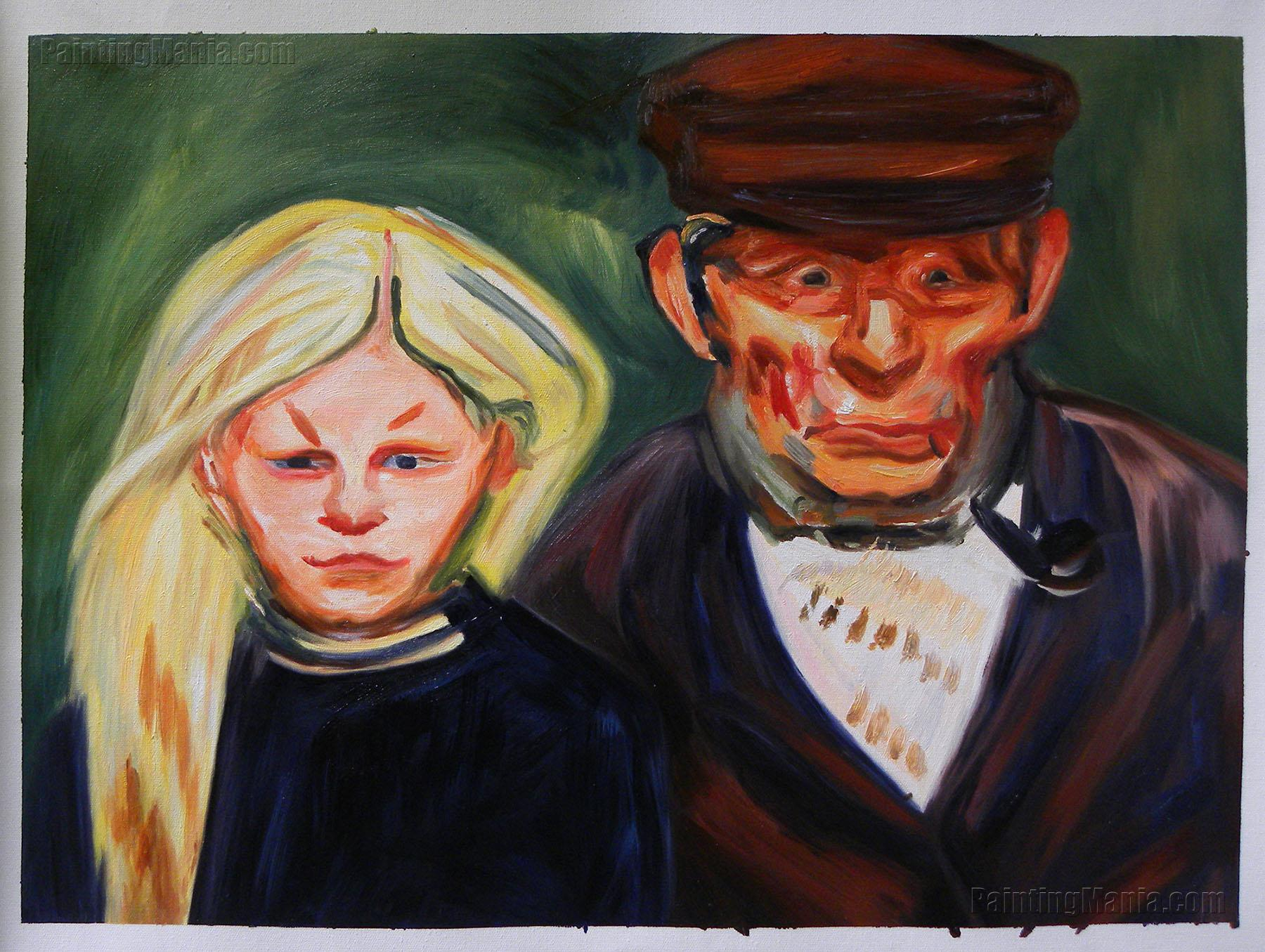 Old Fisherman and His Daughter