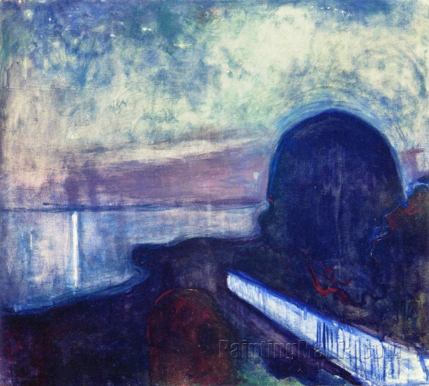 an analysis of the abstract painting starry night by edvard munch Investigation of materials used by edvard munch  abstract: the pigments and paint binders used by edvard munch have been investigated in several studies.