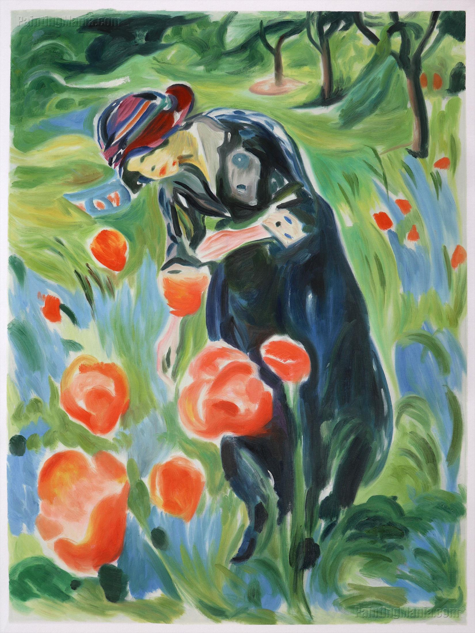 Woman with Poppies