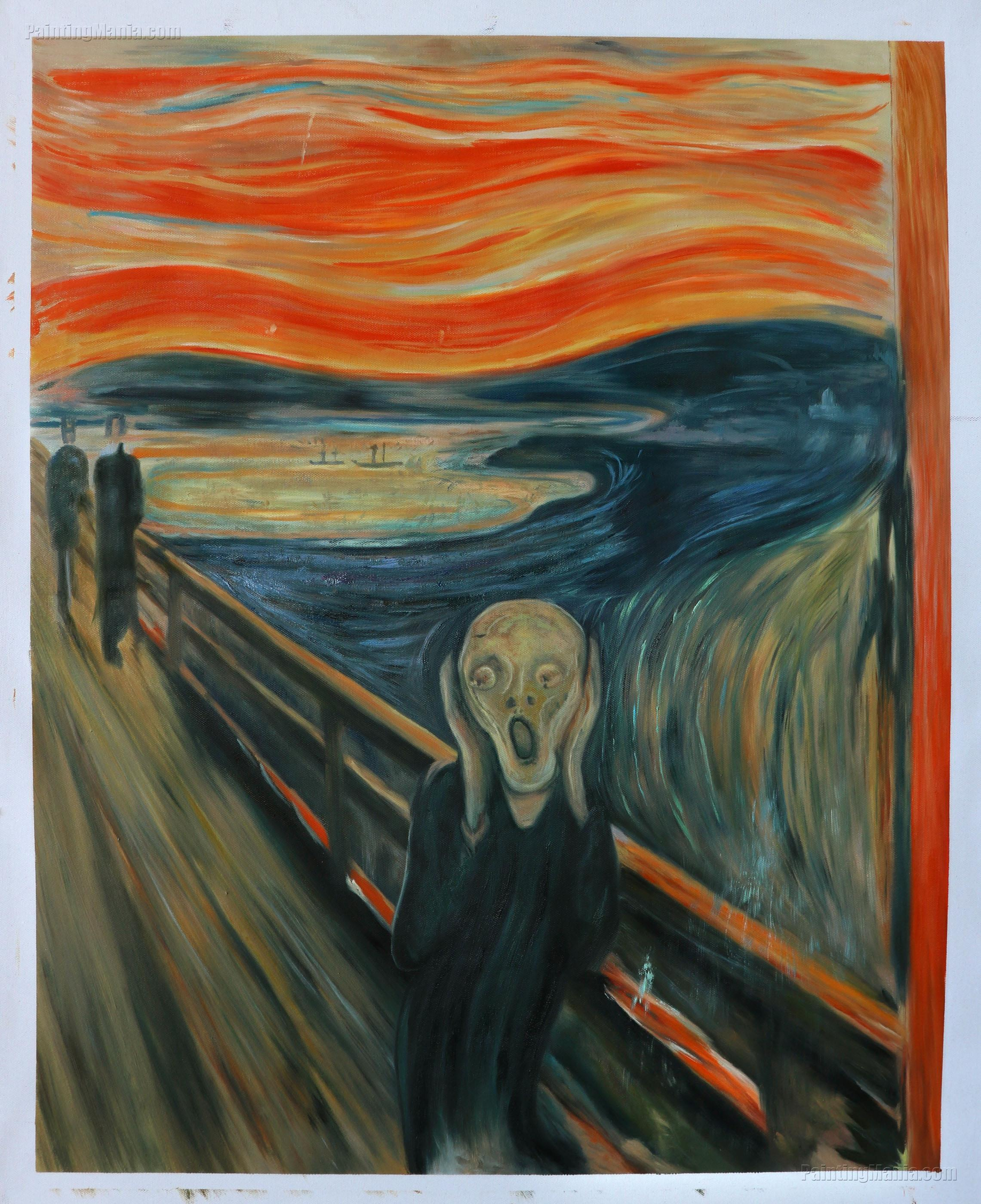 The Scream 1893 - Edvard Munch Paintings