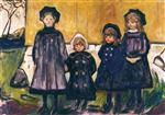 Four Girls in Asgardstrand 1902