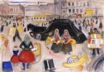 The Hearse on Potsdamer Platz 1902