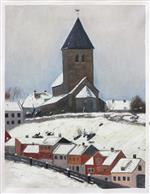 Old Aker Church 1881