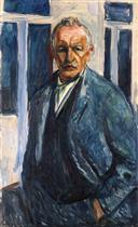 Self-Portrait with Hands in Pockets 1923-1926