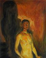 Self-Portrait in Hell